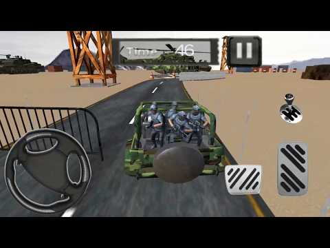 army jeep driving 4x4 parking game play video