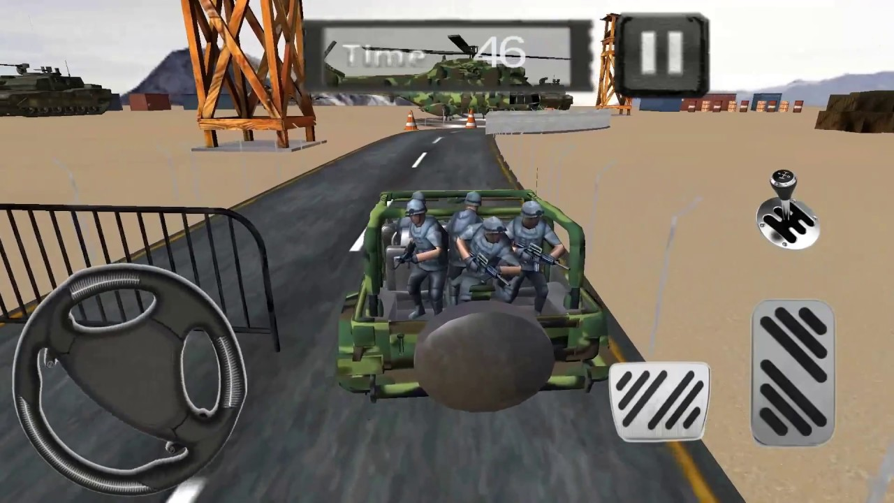 Army Jeep Driving 4x4 Parking Game Play Video Youtube