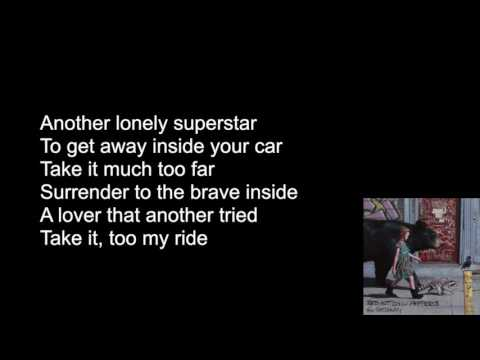 Red Hot Chili Peppers - The Getaway (LYRICS VIDEO)
