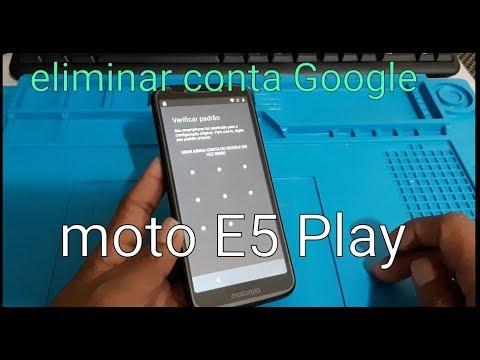Sem Pc Desbloqueio Conta Google Moto E5 Play Android 8 1 Quando