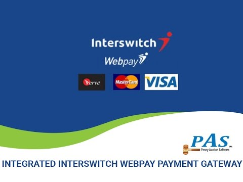 Integrate Interswitch Webpay with Penny Auction Website