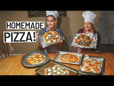 Making the Perfect Homemade Roman Style Pizza