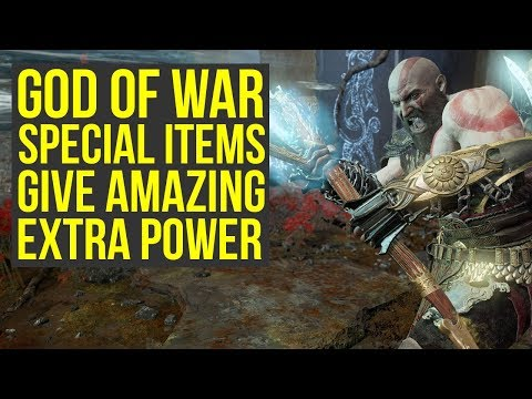 God of War Best Gear - Special Items That Give AMAZING EXTRA POWER (God of War 4 Best Gear)