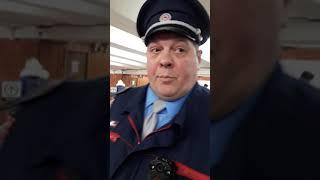 Нарушения сотрудников СБ в метро Тёплый стан