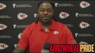 """Chiefs' Jarran Reed: """"The goal is to come in and create havoc"""""""