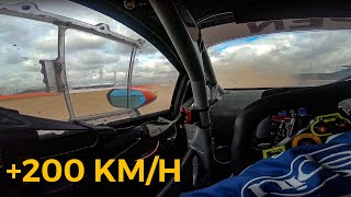 TESTACODA IN LAMBORGHINI A 200 KM/H, CHE RISCHIO! - INTO THE RACE EP.11