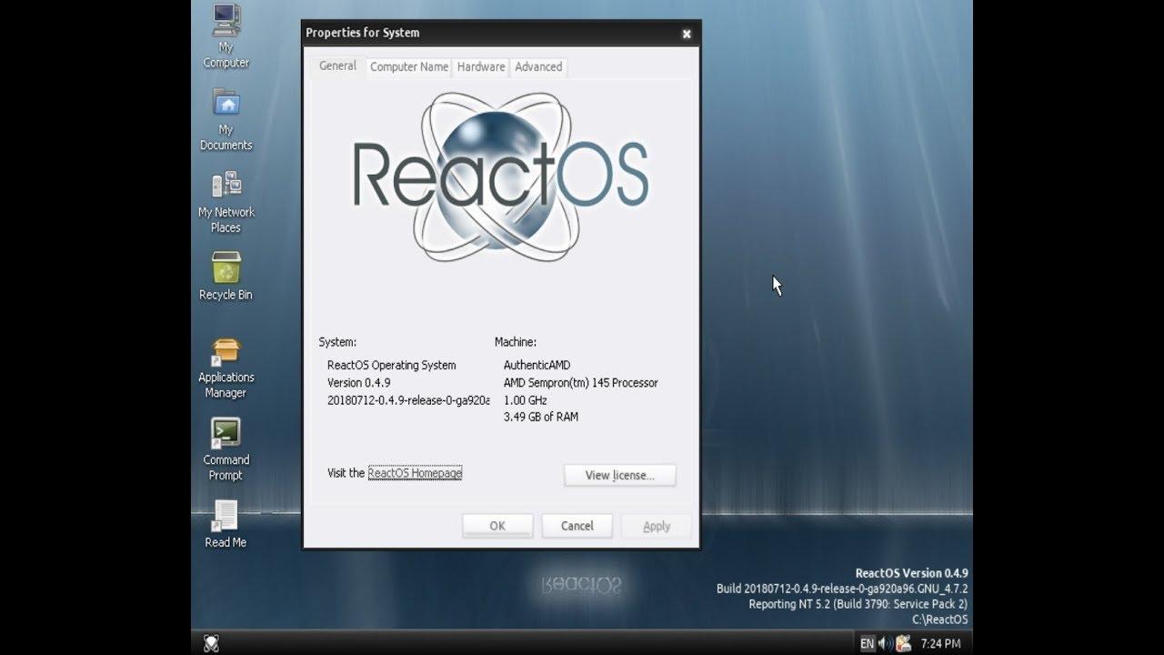 ReactOS 0 4 9 Installation - Linux en Taringa!