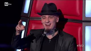 RICCARDO GIACOMINI - Macklemore - Can't hold us - BLIND AUDITION THE VOICE OF ITALY 2018  - RIKY