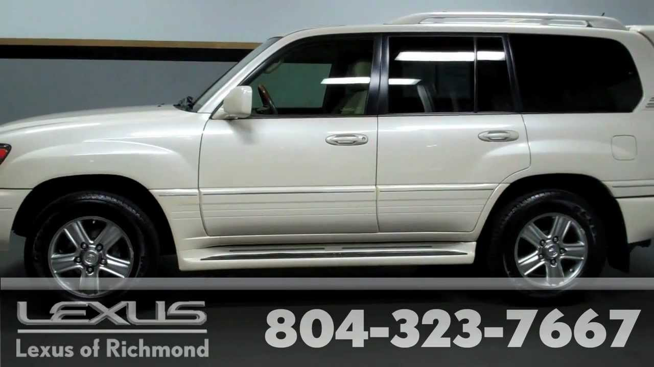 2007 lexus lx 470 pre owned vehicle at lexus of richmond