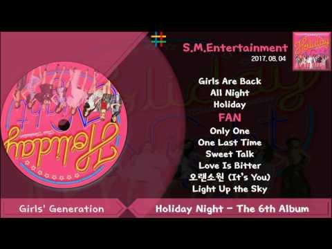 소녀시대 (Girls Generation) Holiday Night - The 6th Album [Full Album]