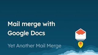 How to create a beautiful email template with Google Docs for your mail merge