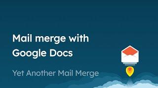So erstellen Sie eine schöne E-Mail-Vorlage mit Google Docs für den Seriendruck