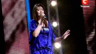 Елизавета Гордиенко Х-Фактор 2.10.10 Харьков