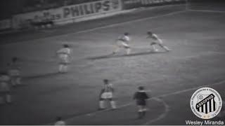 Santos 5 x 1 Botafogo (SP) - 09/03/1968 - Nasce a carretilha no futebol