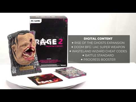 rage 2 collector rsquo s edition unboxing