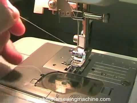 How To Bring Up The Bobbin Thread On The Brother Sewing Machine Amazing How To Load A Bobbin In A Brother Sewing Machine