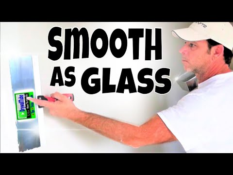 how-to-cover-your-ugly-damaged-wall-with-a-skim-coat--looks-like-glass