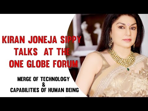 Our Managing Director Ms. Kiran Joneja at the One globe forum