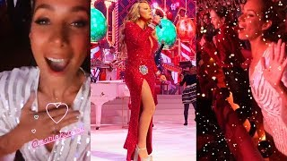 Leona Lewis Reacting To Mariah Carey & Fangirling LIVE At Her Concert! (11/30/19) Video