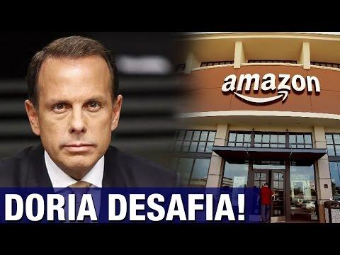 Amazon faz comercial com provocação a São Paulo e recebe desafio de Doria como resposta