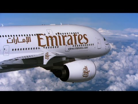 The Emirates' A380 Experience