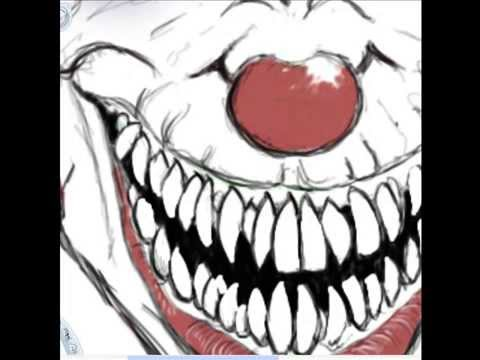 Evil Clown drawings Tutorial - YouTube