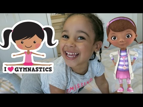 BAD BABY CALI TEACHES DOC MCSTUFFINS GYMNASTICS