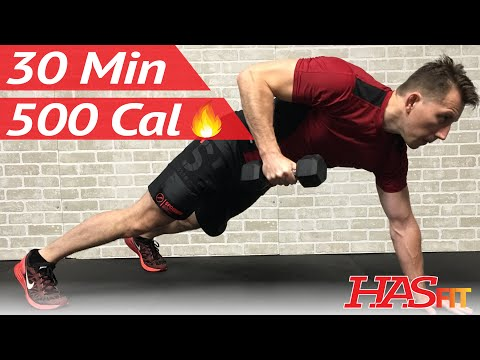 30 Minute HIIT Workout Spartan Warrior Fat Burning High Intensity Interval Training Workouts