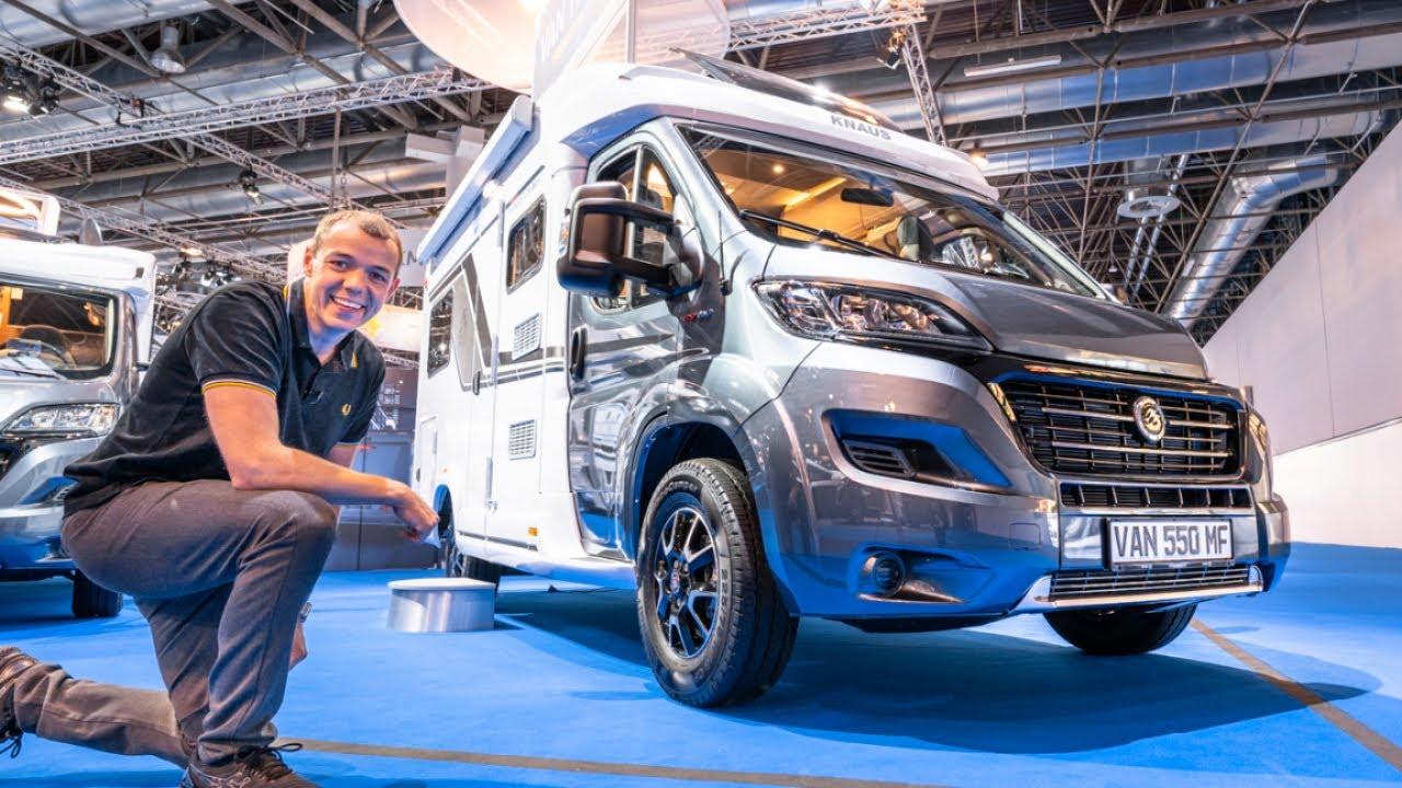 Campervan: Knaus Van TI 550 MF Vansation 2021
