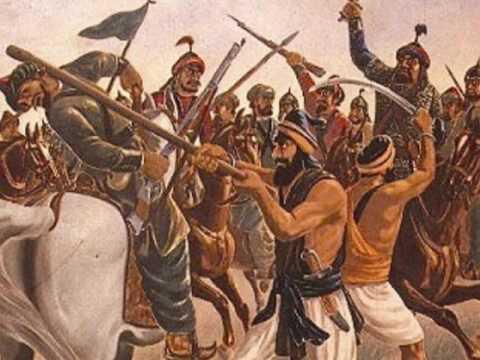 True Sikh History of Baba Bota Singh & Baba Garja Singh