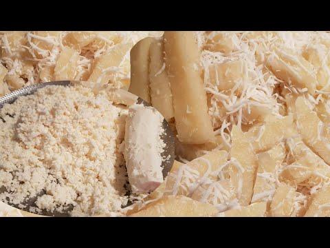 How To Make  Steamed Cassava Cake Laos Dessert ເຂົ້າຫນົມມັນຕົ້ນ