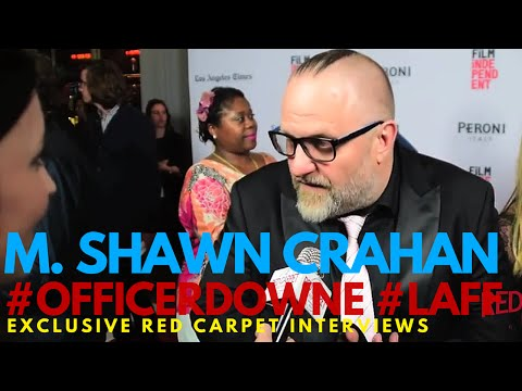 """M Shawn Crahan interviewed at the World Premiere of """"Officer Downe"""" Los Angeles Film Festival #LAFF"""