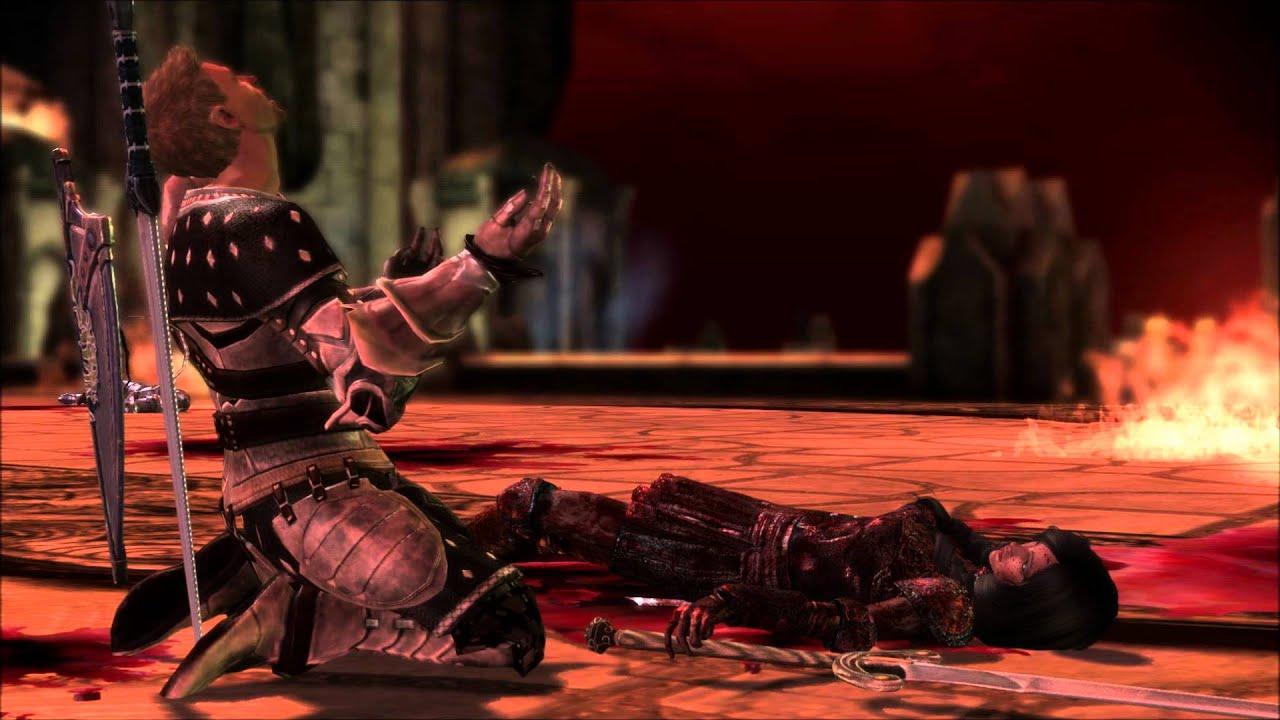 Dragon Age Origins Mod A Hero S Sacrifice Youtube