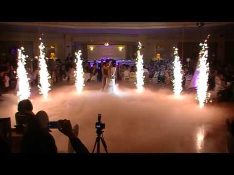 Wedding Fireworks & Dry Ice
