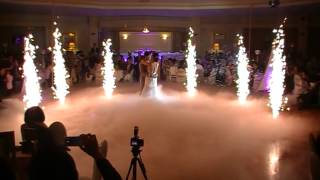 Wedding Fireworks & Dry Ice