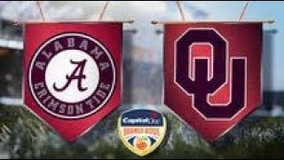 Alabama vs Oklahoma Capital One Orange Bowl CFP Semifinal Highlights 2018