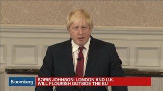 Boris Johnson: Next U.K. Prime Minister 'Cannot Be Me'