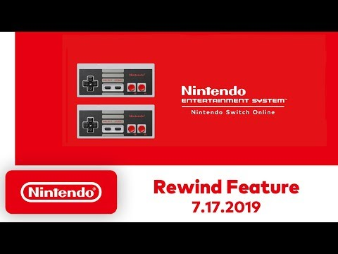 Nintendo Switch NES games are getting a rewind feature