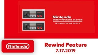 Nintendo Entertainment System - Rewind Feature - Nintendo Switch Online