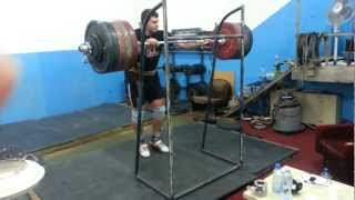 Paused Front Squat 270kg - Weightlifting - Igor Lukanin +105 Kg