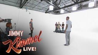 VR|360 Behind-the-Scenes of Zach LaVine & Jamal Crawford Kimmel Prank thumbnail
