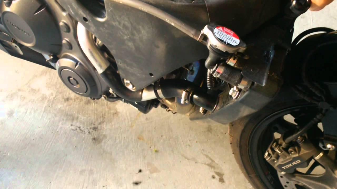 2008 Honda CBR1000rr Crank Noise - Engine Knock - YouTube