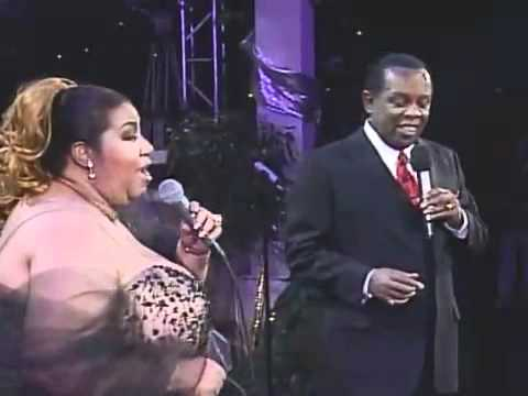 ARETHA FRANKLIN & LOU RAWLS   AT LAST
