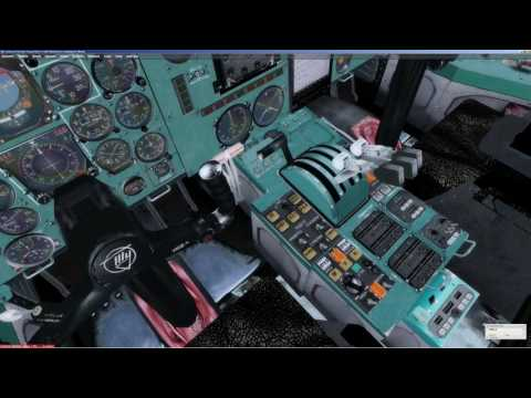 FSX | Prepar3D [ P3D ] | Tu 154 | Manual | Tutorial | Full flight | on English | UUEE -UWGG