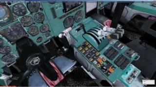 У FSX   Prepar3D [ P3D всі ]   Ту-154   керівництво   керівництво   повний політ   на англійську   УЛПБ -УВГГ