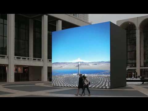 Solar Reserve (Tonopah, Nevada) 2014 at Lincoln Center, New York 2014