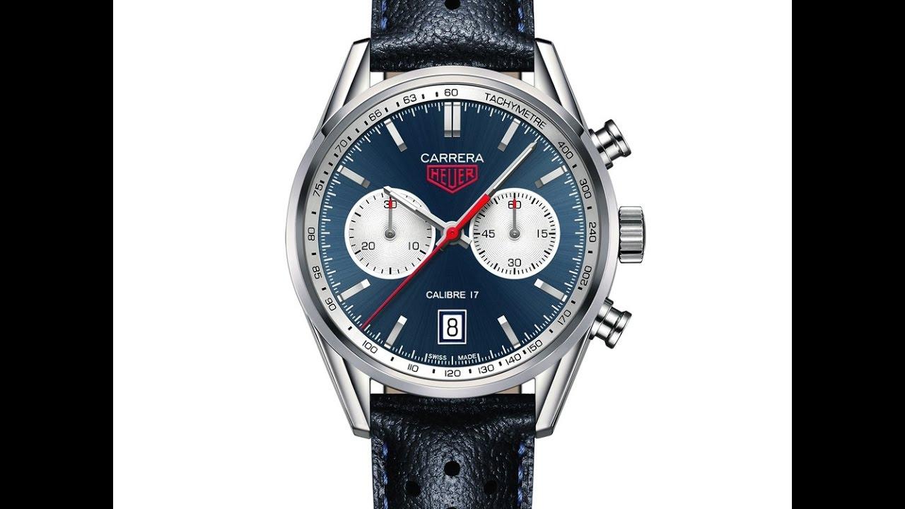 058dddad3258 Limited Edition Heuer Calibre 17 Chronograph ( 500 pieces). Edinburgh Watch  Company