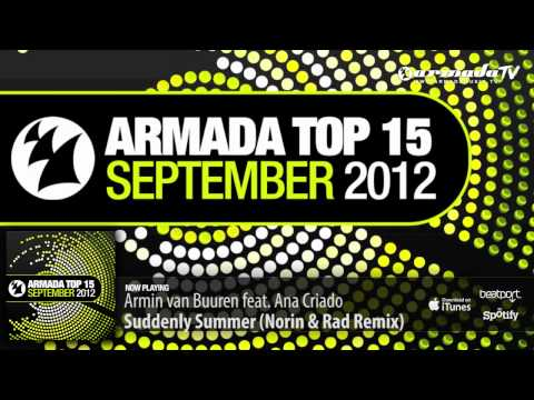 Out now: Various Artists - Armada Top 15 - September 2012