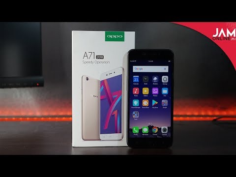 OPPO A71 2018 Unboxing and Hands-On