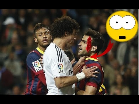 Top 10 Fights EL Clasico Real Madrid Vs Barcelona Fights, Fouls, Dives U0026 Red Cards !!HD
